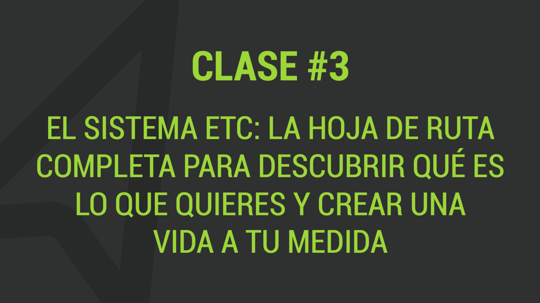 Clase 3 del taller